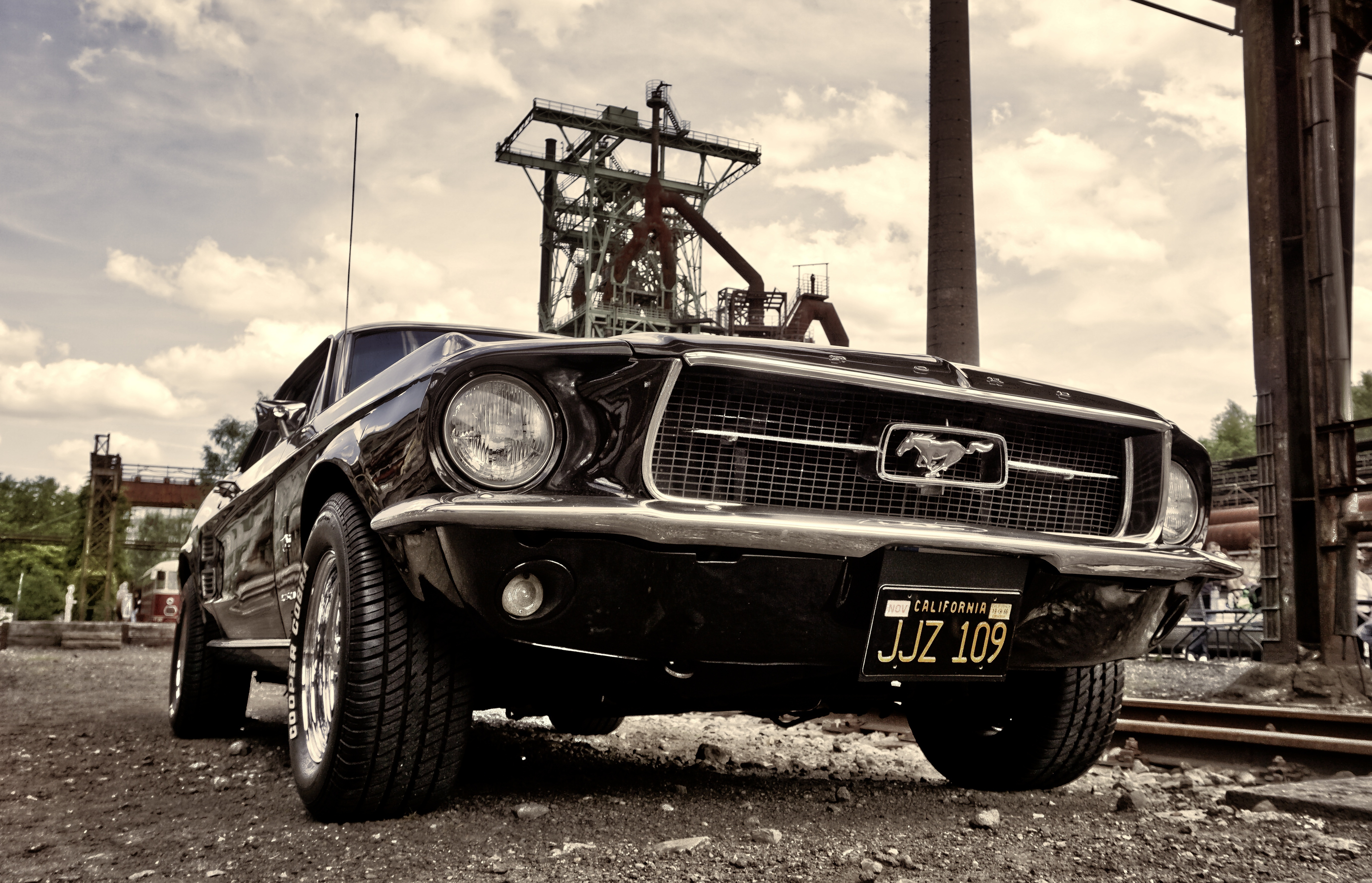 Ford Mustang 150x96 cm